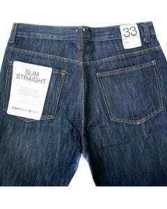 Paper Denim Branded Blue Jeans For Men - JD1038 Slim Fit Jeans for Men