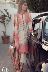 Sana Safinaz Fabric 72x72 Lawn With Chiffon Dupatta