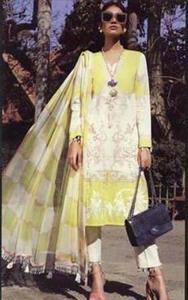 Sana safinaz muzlin new arrival  Party Dress -Replica -Unstitched