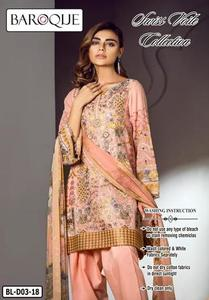 Copy of baroqua swiss collection 2019  (Replica) (Unstitched)