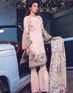 Rang Rasiya Khaddar Dresses - Printed Pashmine Wool Shawl - Replica - Unstitched