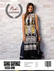 Sana Safinaz Summer Collection Fabric Lawn - Replica - Unstitched