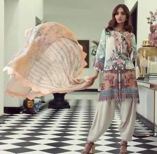SANA SAFINAZ Party Dress -Replica -Unstitched