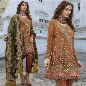Aisha Imran Wedding Dress Designer Suit -Replica- Unstitched