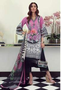 Sana Safinaz Lawn Embroidered Collection - Replica - Unstitched