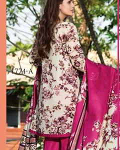 Jhalak Lawn Suits 3 Piece - 1774-A (Original) (Unstitched)