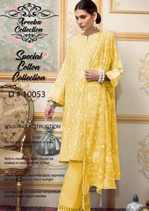 Gul Ahmed winter chikankari  Cotton Collection