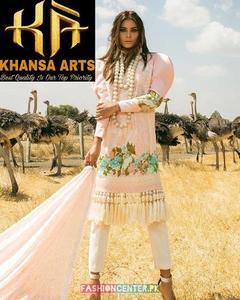 Sana Safinaz Lawn With Broshia Dupatta (Replica)(Unstitched)