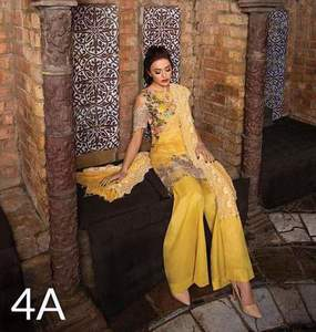 Sobia Nazir Swiss Lawn Dresses - Embroidered Net Dupatta - Replica - Unstitched
