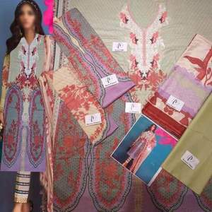 Sana Safinaz Lawn COLLECTION  Replica - Unstitched