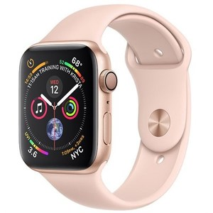 Apple Watch Series 4 MU682 GPS 40mm Gold Aluminum Case with Pink Sand Sport Band