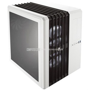Corsair Carbide Series Air 540 (CC-9011048-WW) Arctic White Steel / Plastic ATX Mid Tower Cube Computer Case