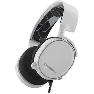 SteelSeries Arctis 3 (2019 Edition) All-Platform Wired Gaming Headset - White - 61506 - For PC  PlayStation 4  Xbox One  Nintendo Switch  VR  Android  and iOS