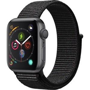 Apple Watch Series 4 MU672 40mm Space Gray Aluminum Case With Black Sport Loop - GPS