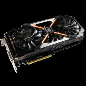 Gigabyte GV-N1080AORUS-8GD AORUS GeForce® GTX 1080 8GB 11Gbps (Rev. 1.0) Video Graphics Card
