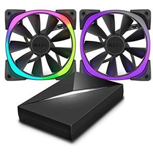 NZXT Aer RGB 120mm Digitally Controlled RGB LED Fans For HUE+ (RF-AR120-C1)