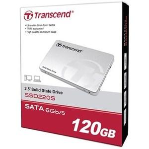 Transcend TS120GSSD220S - 120GB SATA III 6Gb/s SSD220 2.5 Solid State Drive (SSD)