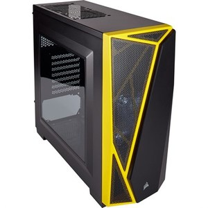 Corsair Carbide Series® SPEC-04 Mid-Tower Gaming Case — Black/Yellow (CC-9011108-WW)