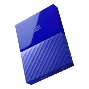 WD My Passport 4TB External USB 3.0 Portable Hard Drive - Blue