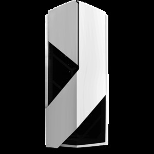 NZXT Noctis 450 Bold and Daring ATX Mid-Tower Case Glossy White (CA-N450W-W1)