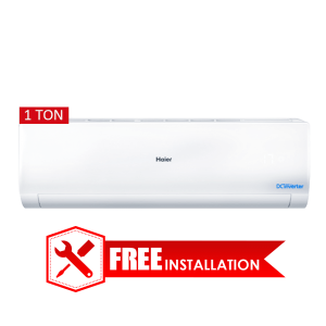 Haier 1 Ton DC Inverter Split AC Intelligent Airflow Auto Clean HSU-12HN