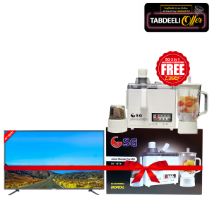 Haier 40Inch HD Led TV  LE40K6000  With Free SG 3 In 1 Juicer