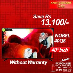 Nobel 40 IPS LED TV Black