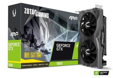ZOTAC GAMING GeForce GTX 1660 AMP! 6GB GDDR5
