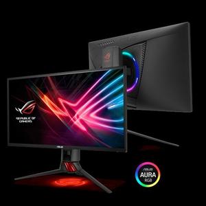 Asus ROG Strix XG258Q Gaming Monitor – 25 inch (24.5 inch viewable) FHD (1920x1080)  Native 240Hz  1ms  Adaptive-Sync(FreeSync™)  Asus Aura RGB