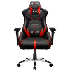 Warlord Templar Gaming Chair - Black/Red