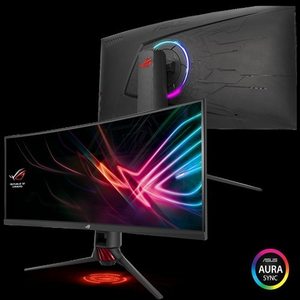 ASUS ROG Strix XG35VQ Curved Gaming Monitor – 35 inch UWQHD (3440x1440)  100Hz  Adaptive-Sync(FreeSync™)