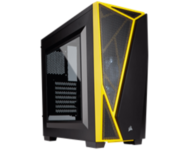 Corsair Carbide Series SPEC-04 Mid-Tower Gaming Case — Black/Yellow