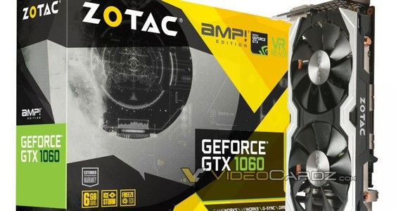 ZOTAC GeForce GTX 1060 6GBAMP Edition
