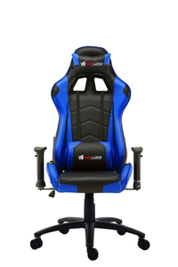 Warlord Huntsmen Gaming Chair - Black/Blue