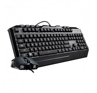 Cooler Master Devastator 3 Gaming Keyboard & Mouse Combo  7 Color Mode LED Backlit  Media Keys  4 DPI Settings