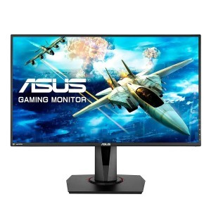 "ASUS VG278QR eSports Gaming LED Monitor - 27  FHD (1920x1080)  0.5ms*  165Hz  AMD FreeSyncâ""¢"
