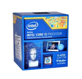 Intel Core i5-4690 Haswell Quad-Core 3.3 GHz LGA 1150 Desktop CPU/Processor