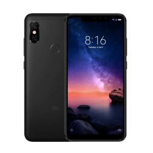 Xiaomi Redmi Note 6 Pro 6.26 Full Screen Display  3GB RAM  32GB ROM  Android 8.1 (Oreo) Dual Cameras PTA Approved Mobile Phone - Black