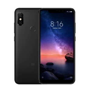 Xiaomi Redmi Note 6 Pro 6.26″ Full Screen Display  3GB RAM  32GB ROM  Android 8.1 (Oreo) Dual Camera's PTA Approved Mobile Phone – Black
