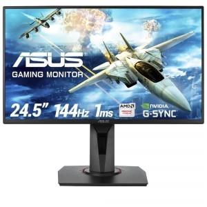 "ASUS VG258Q Gaming Monitor - 24.5""  Full HD  1ms  144Hz  G-SYNC Compatible  Adaptive-Sync"