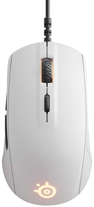SteelSeries Rival 110  Optical Gaming Mouse  RGB Illumination  6 Buttons  PC/Mac  White