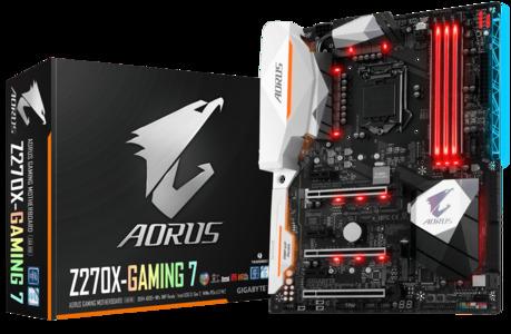 GIGABYTE Aorus GA-Z270X-Gaming 7 (rev. 1.0) LGA 1151 Intel Z270 USB 3.1 ATX Motherboard