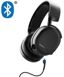 SteelSeries Arctis 3 Bluetooth (2019 Edition) Wired Gaming Headset + Bluetooth – for Nintendo Switch  PC  Playstation 4  Xbox One  VR  Android  and iOS – Black