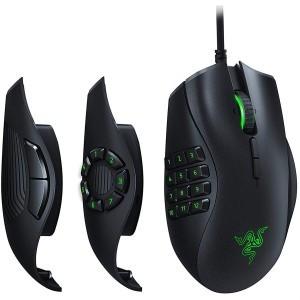 Razer Naga Trinity Gaming Mouse: 16 000 DPI Optical Sensor - Chroma RGB Lighting Mechanical Switches