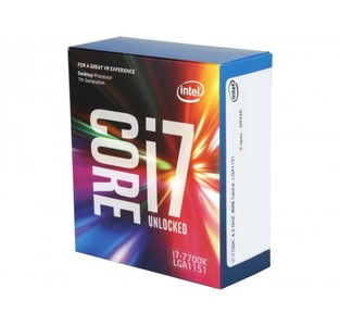 Intel Core i7-7700K Kaby Lake Processor (8M Cache  up to 4.50 GHz) LGA 1151Desktop CPU/Processor