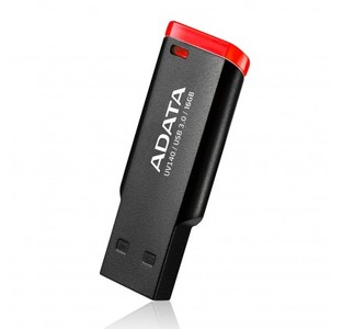ADATA UV140 16GB USB 3.0 Flash Drive BLACK - RED