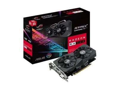 ASUS ROG Strix Radeon RX 560 4GB Gaming GDDR5 DP HDMI DVI AMD Graphics Card (ROG-STRIX-RX560-4G-GAMING)