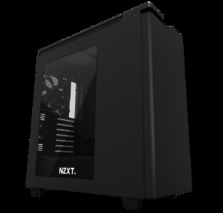 NEW NZXT H440 Mid Tower Include 4 x 2nd Gen FN V2 Fans  High-End WC support  USB3.0  PWM Fan hub  Matte Black