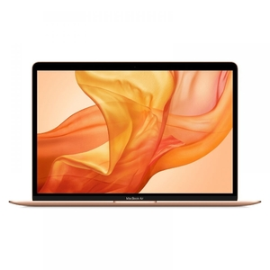 Apple MacBook Air With Touch-ID & Force Touch Trackpad 13.3-inch IPS Retina Display  8th Gen Ci5 DualCore  8GB 128GB SSD  (Gold  2018) MREE2