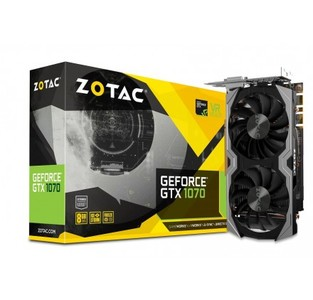 ZOTAC GeForce GTX 1070 Mini 8GB ZT-P10700G-10M
